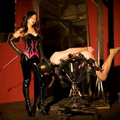 BDSM spel bondage,